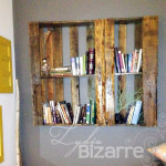 Large pallet shelf.