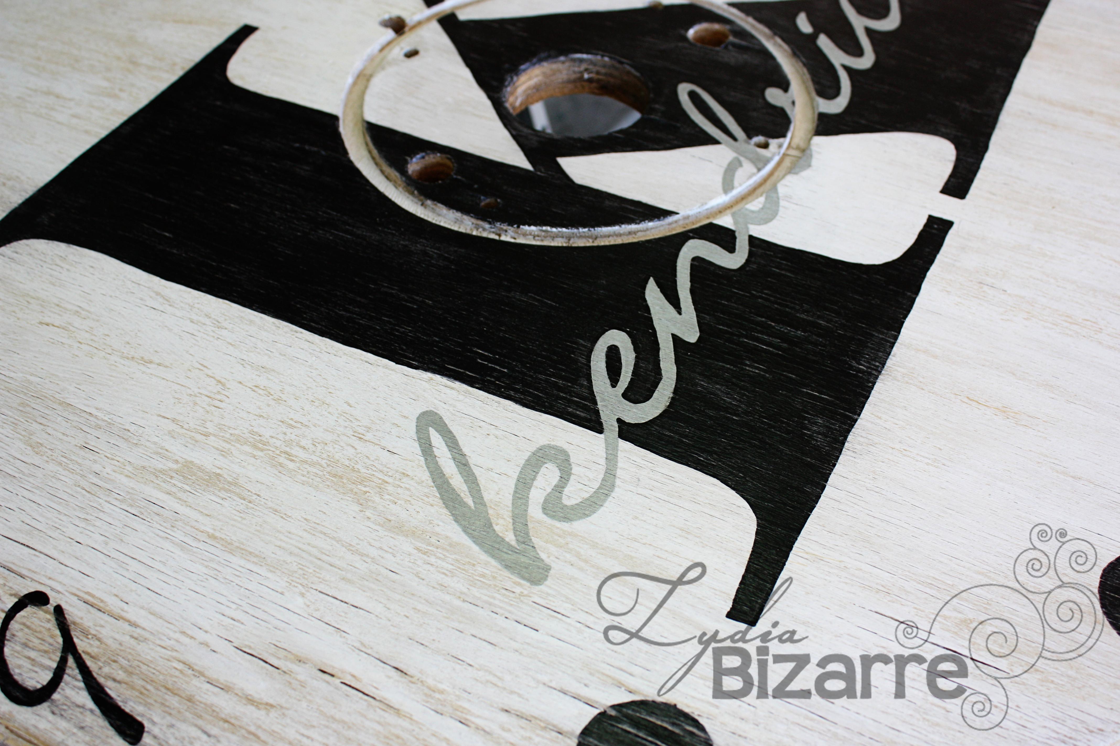 lydia bizarre spool clock monogram