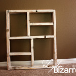 lydia bizzare wooden box shelf