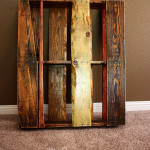 lydia bizarre pallet shelf multi colored