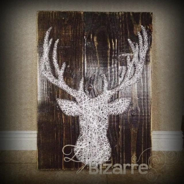 String Art Stag Deer