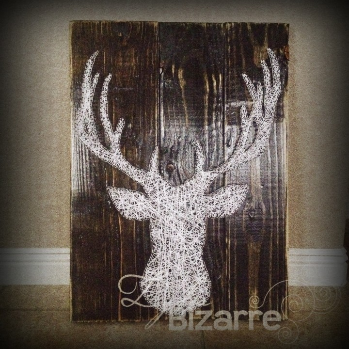 String Art Stag Deer
